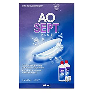Aosept Plus Kontaktlinsen-Pflegemittel, Vorratspackung, 2 x 360 ml