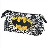 KARACTERMANIA Batman Tagsignal-Triple HS Pencil Case Astuccio, 24 cm, Grigio (Grey)