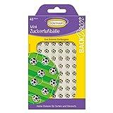 Günthart BackDecor 48 Mini Zucker Fußbälle | Zucker Fußball