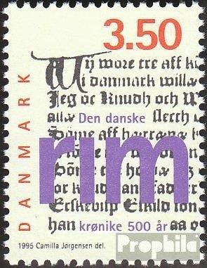 Dänemark 1104 (kompl.Ausg.) 1995 Dänische Reimchronik (Briefmarken für Sammler)