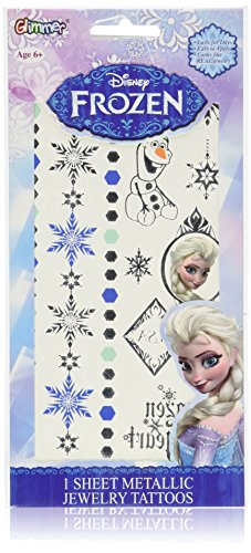 disney-frozen-elsa-metallic-jewelry-tatouage-temporaire-sheet