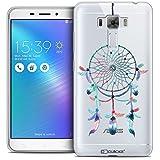 Caseink - Coque Housse Etui ASUS Zenfone 3 Laser ZC551KL (5.5) [Crystal Gel Motif HD Collection Dreamy Design Attrape Rêves Rainbow - Souple - Ultra Fin - Imprimé en France]