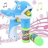 treasure-house Elektrische Dolphin Bubble Gun Musik Licht Blowing Bubbles + Bubble Wasser Gürtel Sword Set Kinder Outdoor-Toys Hot