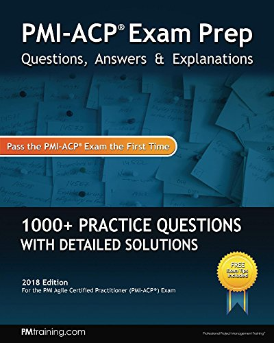 PMI ACP Exam Prep Questions Answers Explanations English Edition