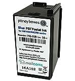 Pitney Bowes DM100 Genuine Original Smart Blue Ink Cartridge - 793-5SB