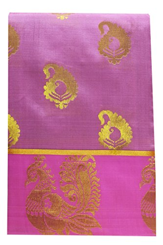 Saravanabava Silks Women's Art Silks Saree With Blouse Piece (Srbs000227, Purple, Free...