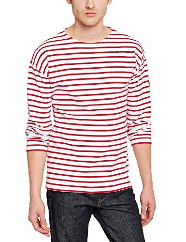 Armor Lux Herren T-Shirt Blanc (320 Blanc/Braise)