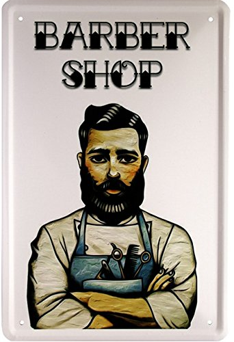 da8d35ef8336 Barber shop coiffeur 20 x 30 cm-affiche 1637