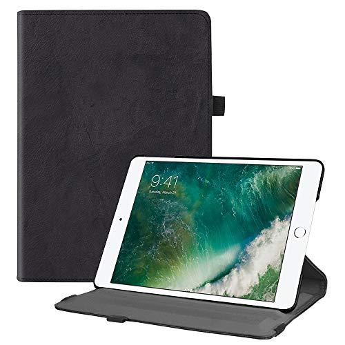Fintie iPad 9.7 Zoll 2018 2017 / iPad Air Hülle - 360 Grad Rotierend Stand Cover Case Schutzhülle mit Auto Schlaf/Wach Funktion für Apple iPad 9,7'' 2018 2017 / iPad Air 2 / iPad Air, Klassik Schwarz (Mini 4g Ipad Wifi)