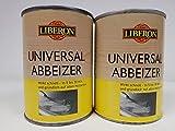 2x 0,5 Liter Liberon Universal Abbeizer 1 Liter