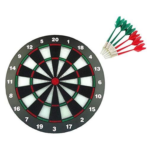 WanNing Leisure Safety Darts Magnet-Dart-Profi-Dartboard-Set, 18-Zoll-Dartscheibe 6 Soft Darts, Geeignet Für Kinder Und Erwachsene, Büro Und Home Entertainment