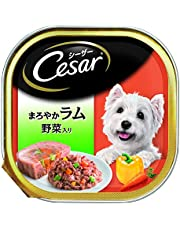 Cesar Adult Wet Dog Food, Lamb & Vegetables, 24 Trays (24x100g)