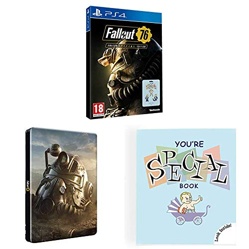 Fallout 76 Amazon S.P.E.C.I.A.L. Edition (Edición Exclusiva Amazon) + Steelbook (Edición Exclusiva Amazon) + Fallout - You're Special - Set de pins parciales