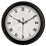 Sunjun Retro Wohnzimmer Wanduhr Mute Antike Taschen-Uhr Rund Um die Uhr Schlafzimmer Wanduhr (Muster : B)