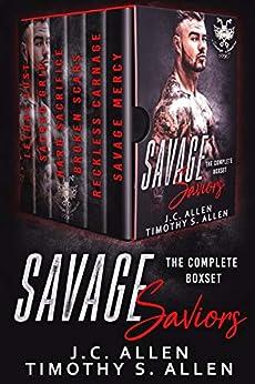 Savage Saviors: The Complete Boxset (Savage Saviors MC) (English Edition)