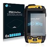 Savvies Schutzfolie kompatibel mit RugGear RG500 (6 Stück) - ultraklare Bildschirmschutz-Folie