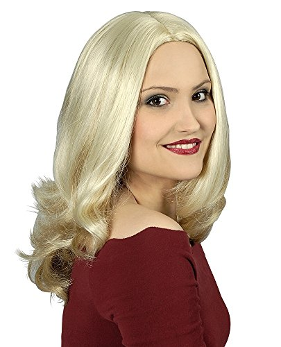 Preisvergleich Produktbild Hochwertige Damen Perücke Penny - Blond Langhaar - Wie Echthaar - waschbar kämmbar