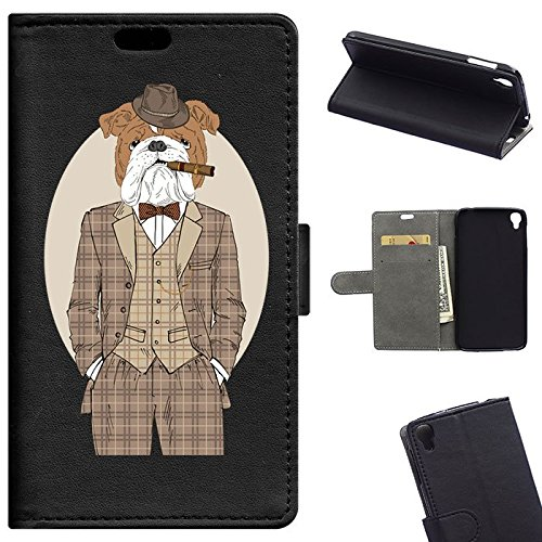 etui-housse-premium-portefeuille-alcatel-onetouch-idol-3-55-becool-hipster-american-bulldog