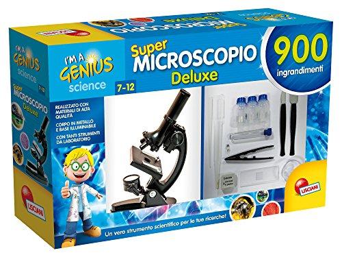 Lisciani Giochi 64281 - I'm a Genius Microscopio De-Luxe
