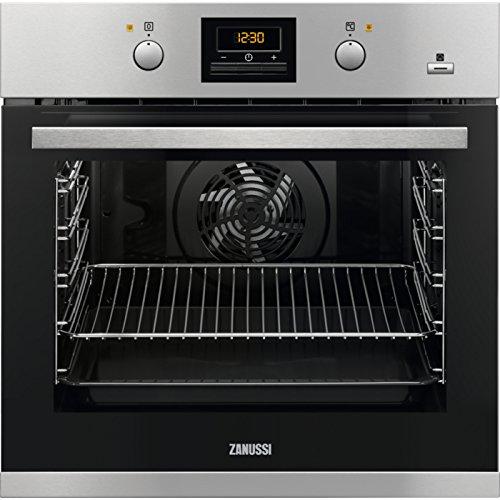 Zanussi ZOB65902XU - Horno Medio, Horno eléctrico, 72 L, 72 L, Negro, Acero inoxidable, Giratorio...