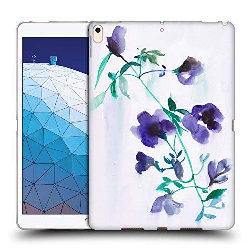 Head Case Designs Offizielle Mai Autumn Mond Tropfen Bluete Blumig Soft Gel Huelle kompatibel mit iPad Air (2019) - Mond Blüten