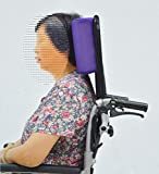 Universal-verstellbarer Rollstuhl Kopfkissen Nackenkissen Erhöhung Rollstuhl Zubehör lila