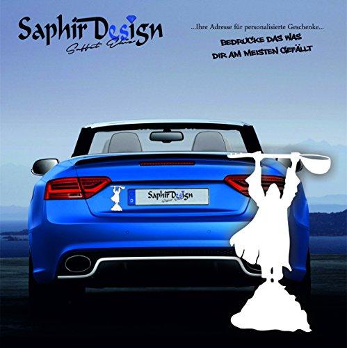 Pir Sultan Abdal / Saz / Türkiye / Sehr Coole Autoaufkleber / 10x16cm / M135 Farbe Weiss