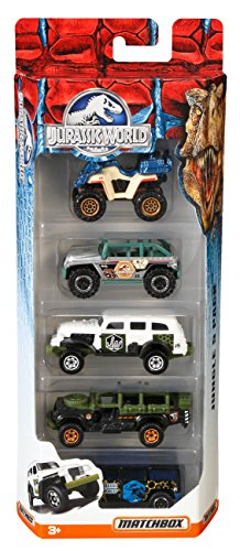 Matchbox Jurassic World 1: 64 Vehicle 5-Pack (Styles Can Vary)