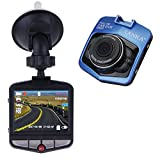 LANKA® Full HD 1080P Car Dash Cam DVR Camera Dashboard Digital Driving Video Recorder Built-in G-Sensor Parking Monitor Motion Detection Loop Recording (Blue)