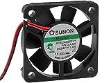 Sunon Lüfter 50x50x10mm KDE2405PFV1 DC 24V 6500 U/min 35dBA Vapolager 2 Litzen