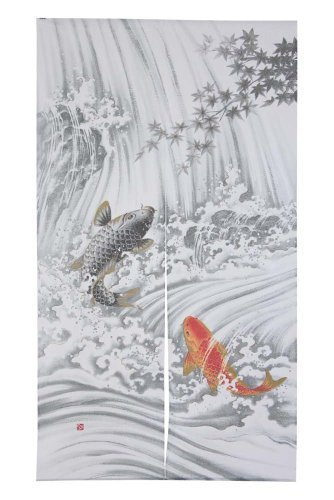 Noren en polyester - Koi nobori by Japonmania (Noren Koi)
