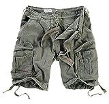 DELTA Herren Airborne Vintage Cargo Shorts, Oliv, Größe S
