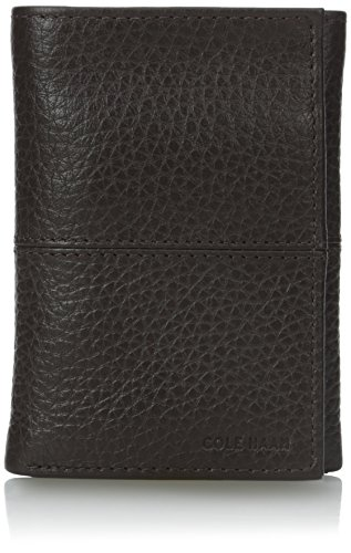 cole-haan-mens-trifold-chocolate-one-size
