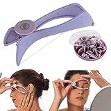 siddhmurti Slique Eyebrow Face & Body Hair Threading Tweezer System Kit