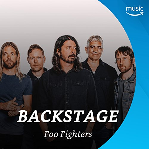 Backstage mit Foo Fighters