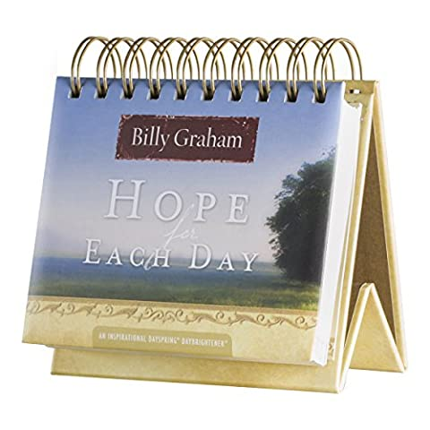 DaySpring Billy Graham's Hope for Each Day Perpetual Flip Calendar, 366 Days of Inspiration (77910)