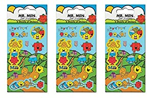Proyectos Pegatinas de Papel Mr Men Party Bundle