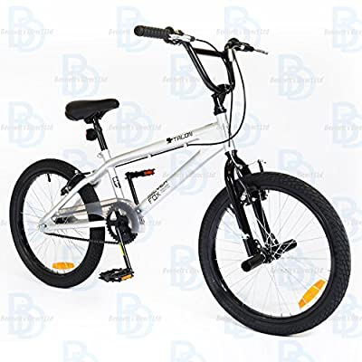 "Silverfox Talon 20"" Unisex BMX Bike - Grey and Black - NEW RANGE"