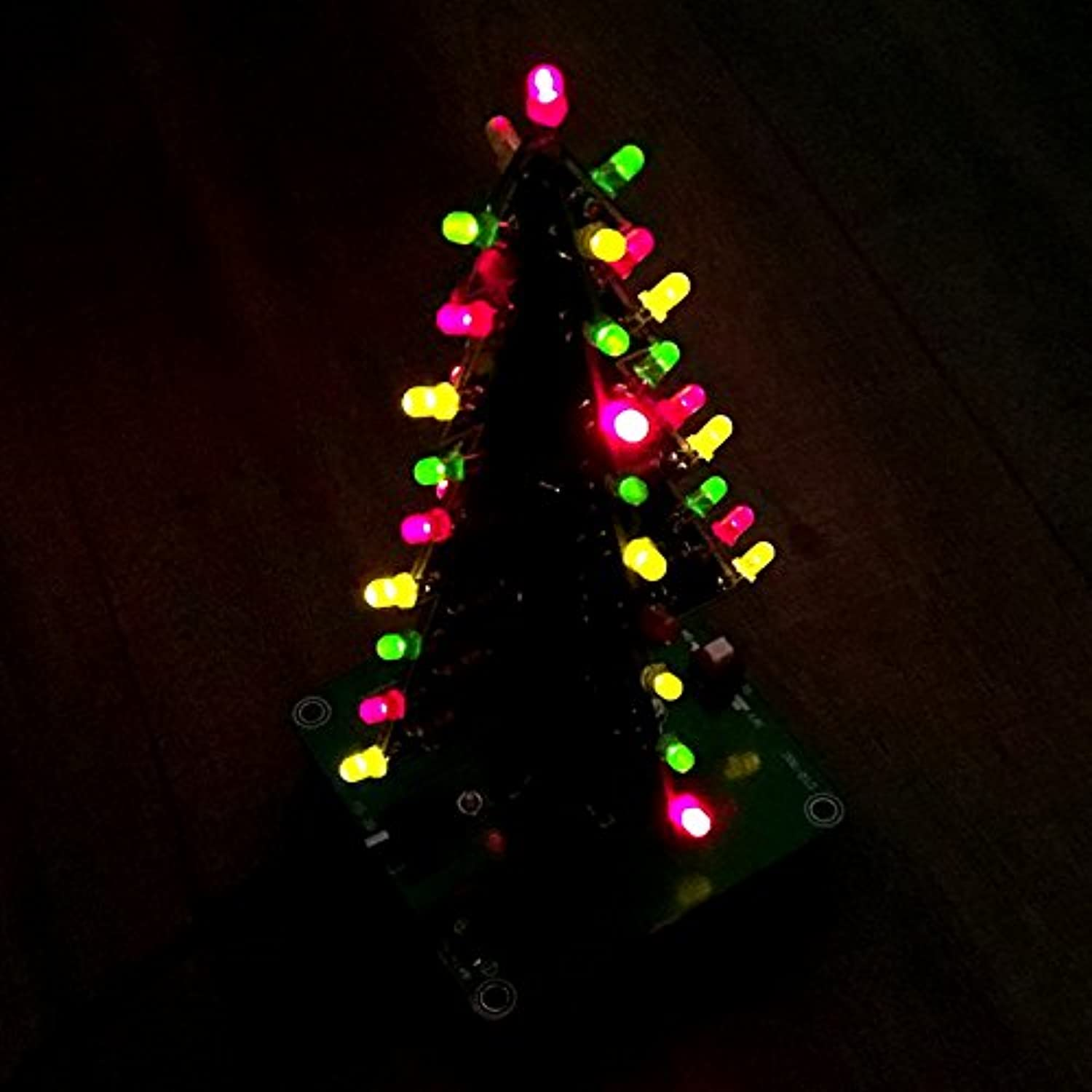Gikfun 3d Christmas Tree Led Diy Kit Flash Circuit Ek1719u Lights Flasher Esooho