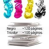 HP 3JB05AE 304 Cartuchos de tinta originales, negro y tricolor, paquete de 2