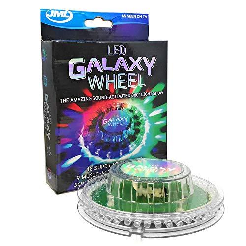 FTYtek Cristal de Galaxie poss/ède Une Base /électroluminescente LED de Sept Couleurs