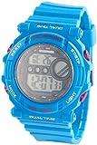 PEARL sports Unisex Uhr Digital Digitales Quarzwerk mit Kautschuk Armband W201UM