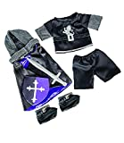 Medieval Knight Costume Fits Most 14 - 18 Build-a-bear, Vermont Teddy Bears, and Make Your Own Stuffed Animals by Stuffems To