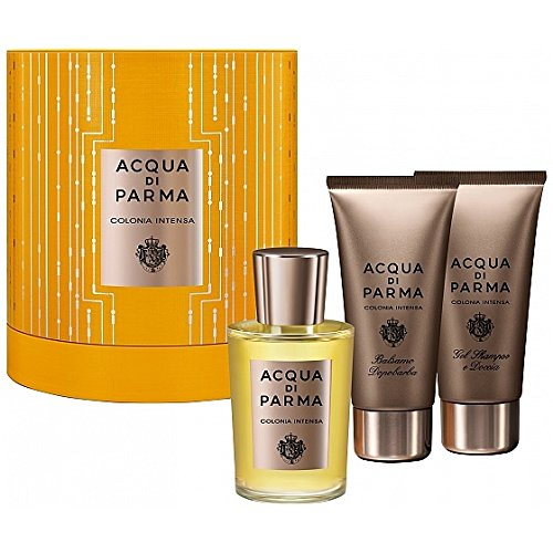 ACQUA PARMA Intensa Set Eau de Cologne 100 ml + Shower Gel 75 ml + After Shave 75 ml