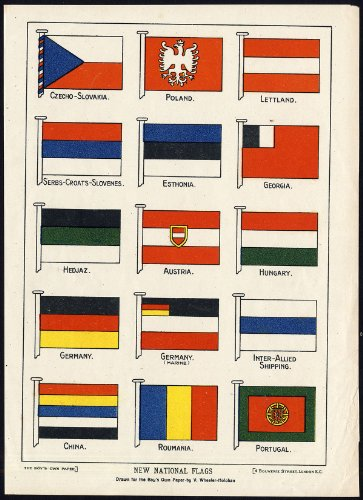 theprintscollector-antico-print-flags-eastern-europe-germany-china-portugal-wheeler-holohan-1920