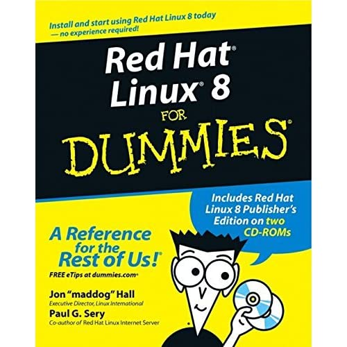 Red Hat Linux 8 For Dummies (For Dummies (Computers)) by Jon Hall (2002-11-07)