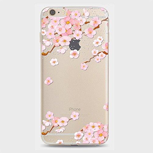 2x Coque iPhone 6/6S, Almani - Etui Silicone Gel Motif Original Dessin Animé en TPU Souple Transparente Coque Case Cover pour iPhone 6/6S Housse Antichoc Ultra-Fine A05