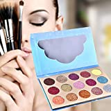 Dream-cool Eyeshadows Tray 15-Color Diamond Flash Point Palette per ombretti Glitter Powder Evidenzia Eye Shadows for Girls Women