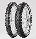 PIRELLI SCORPION MX EXTRA X Tire – Rear – 100/90 – 19, Position: Rear Tire Size: 100/90 – 19, Rim Size: 19, Load Rating: 57, Speed Rating: M, Tire Type: Offroad, Tire Application: Intermediate 2133400 by Pirelli