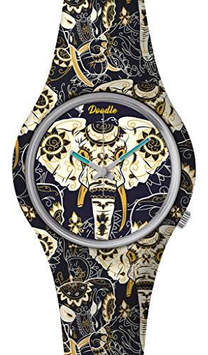 DOODLE Watch? DOOR002 - Reloj de Pulsera (Correa de Silicona, 39 mm...